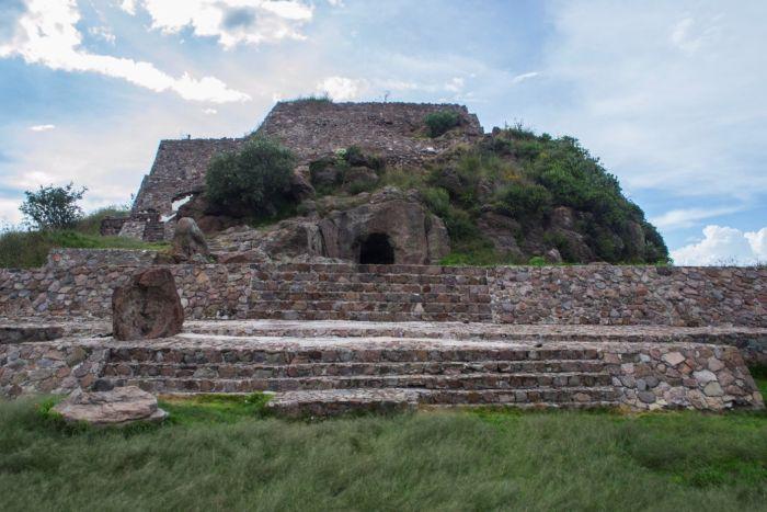 Świątynia na szczycie Tetzcotzinco. Fot. D. Prusaczyk