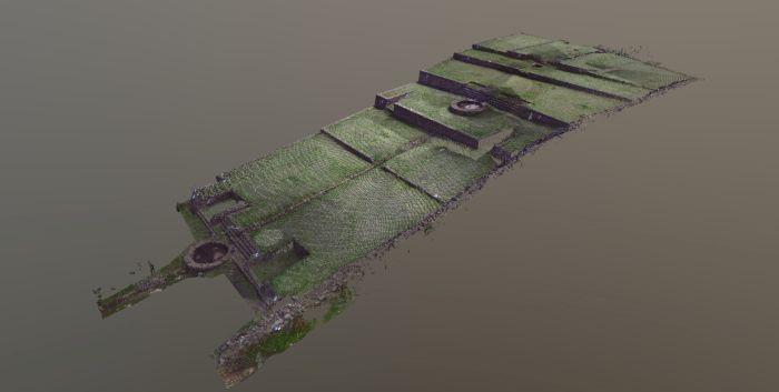 Jeden z modeli 3D. Oprac. Marcin Kulesza