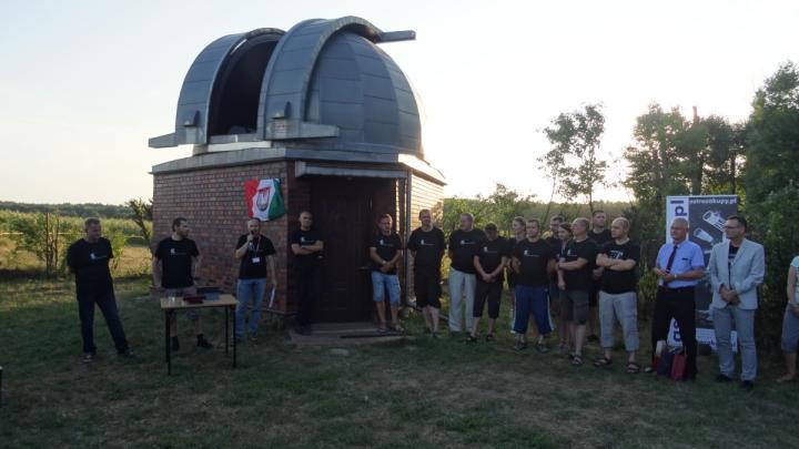 W niedźwiadach działa już duży amatorski teleskop astronomiczny