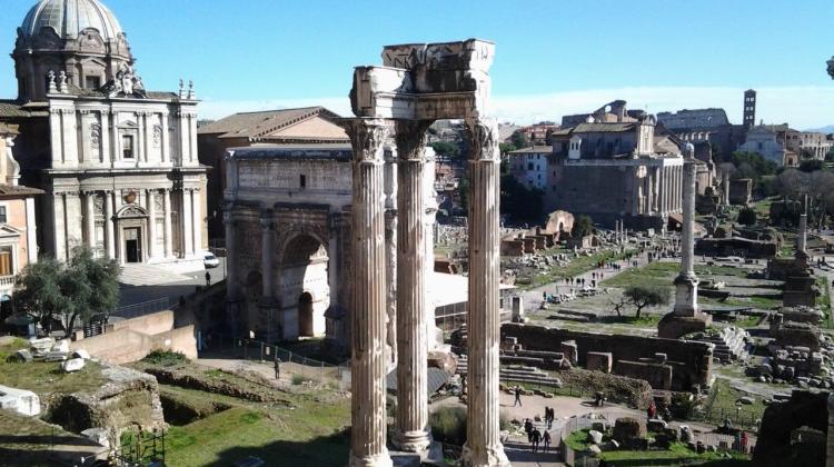 Forum Romanum, fot. K. Kopij