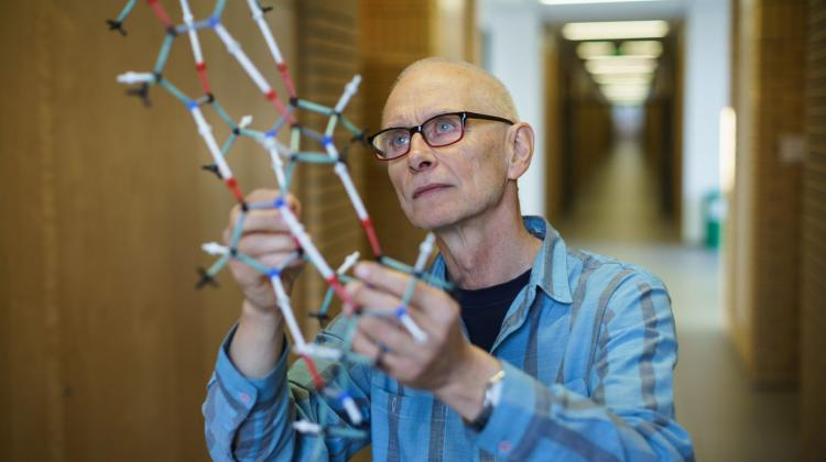 Prof. Mariusz Jaskólski Fot. Adrian Wykrota